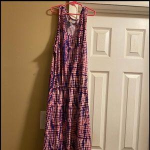 Lularoe Summer Dress XL NWT